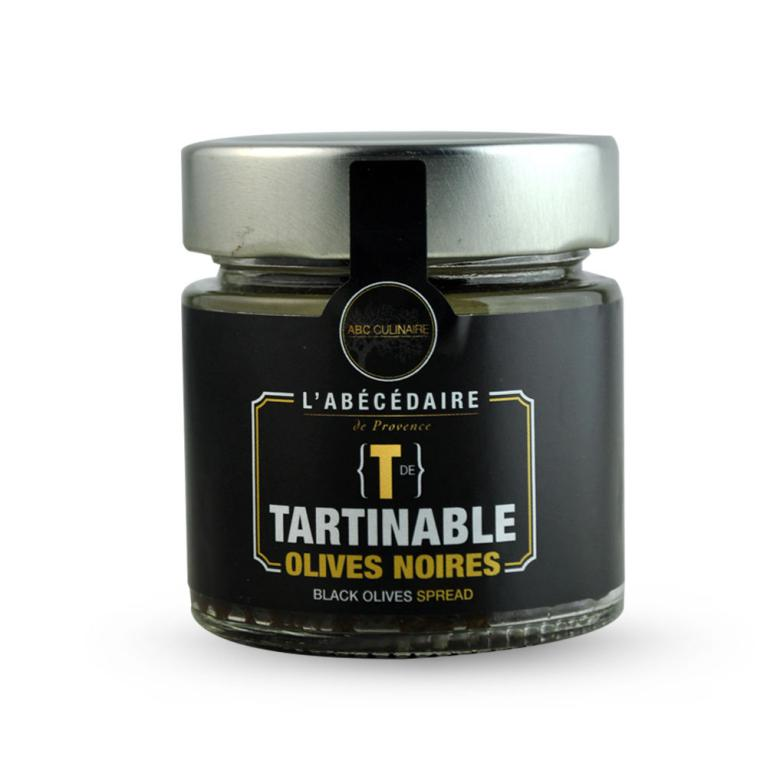 tapenade olives noires - abc culinaire